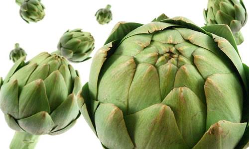 Alcaucil planta medicinal