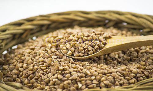 foto Trigo sarraceno semillas